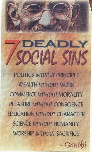 the seven deadly social sins The facebook-cambridge analytica data exploitation crisis seems to be waking up a new wave of americans to the fundamental downsides of our purposeful addiction to social.