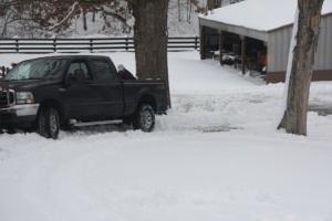 Stuck in Snow