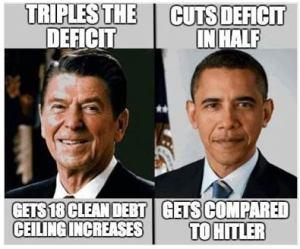Reagan Obama