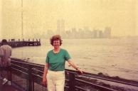 WTC from Ellis Island